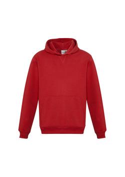 Biz SW760K Kids Crew Pullover Hoodie Red