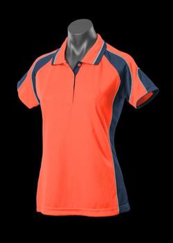 2300 Hi Viz Orange-Navy