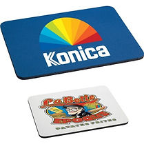 Check out our selection of promotional mouse mats. Decorate with Logo, Brand or point of contact.