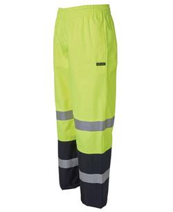 6DPRP Hi Vis (D+N) Premium Rain Pant Lime-Navy