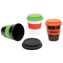 Check out our selection of promotional Travel Mugs. Decorate with Logo, Brand or point of contact.