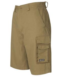 6MCS Canvas Cargo Shorts Front