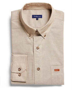 Mens 5045LN Iconic Chambray Industrial Shirt Sand