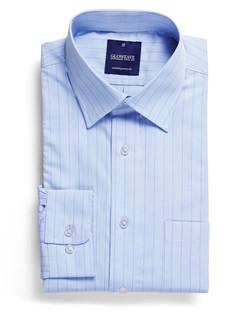 Mens 1069L LS Yarn Dyed Herringbone Shirt Sky