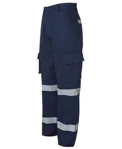 6MMP Mercerised (D+N) Multi Pocket Pant - Navy