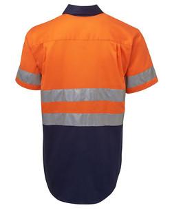 6HSS Hi Vis (D+N) SS 190G Shirt Back