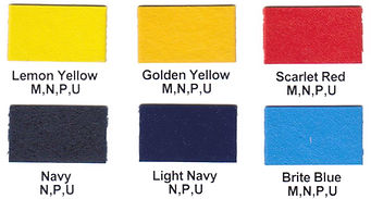 SunPrints Range of Standard Screen Printing Inks
