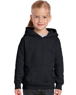 18500B Youth Hooded Sweatshirt Front