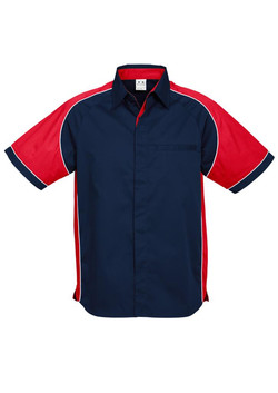 S10112 Navy Red
