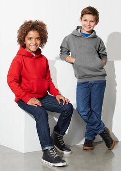 Biz SW760K Kids Crew Pullover Hoodie