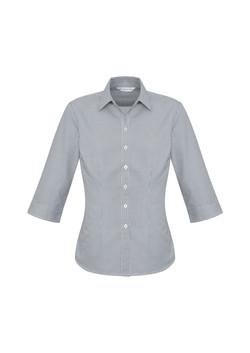 Biz S716LT Ladies Ellison Shirts Silver