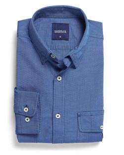 Mens 5271L LS Oxford Shirt Blue