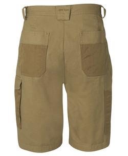 6MCS Canvas Cargo Shorts Back
