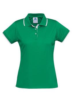 P402LS Ladies Green-White