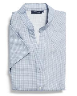 Ladies 1582WS 100% Printed Polyester Shirt Navy