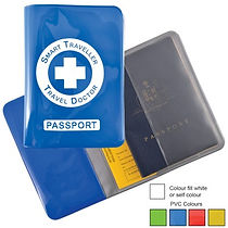 Travelling? Browse our range of Promotional Travel Wallets. Decorate with your Logo or Brand.
