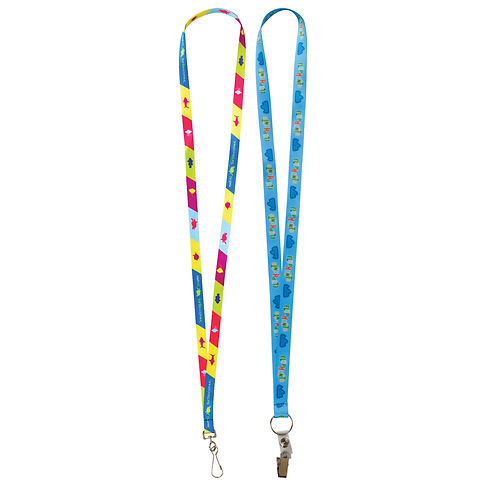 Fast Track Sublimation Lanyards - 19mm Wide
