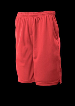 3601 Kids Sports Shorts Red