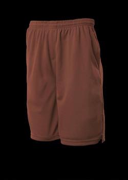 3601 Kids Sports Shorts Chocolate