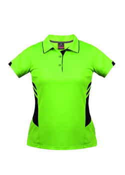 AP 2311 Tasman Polo Neon Green-Black