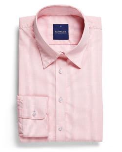 Ladies 1637WL LS Gingham Check Shirt Pink