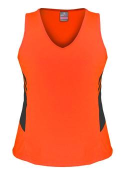 AP 2111 Ladies Tasman Singlet Orange-Slate.jpg