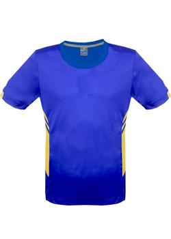 AP 1211 Mens Tasman Tshirt Royal-Gold