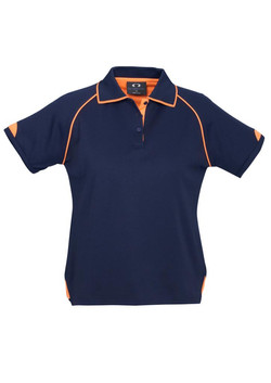 P29022 Ladies Navy-Fluoro Orange