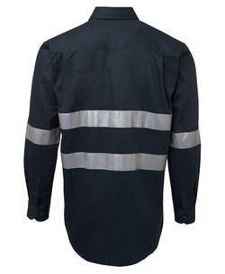 6HDNL LS 190G Shirt With 3M Tape Back