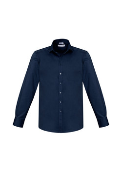 Biz S770ML Mens Monaco LS Shirts Ink