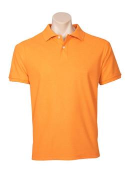 p2100 Mens Neon Polo Orange