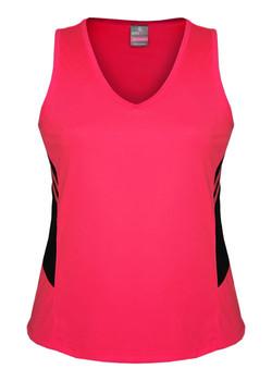 AP 2111 Ladies Tasman Singlet Fluro Pink-Black.jpg