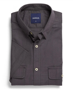 Mens 5271S SS Oxford Shirt Slate