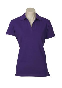 p9025 Ladies Oceana Polo Purple