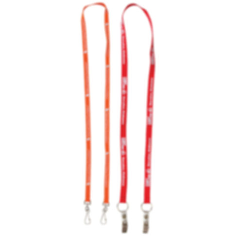 Dual Attachment Lanyards - 13mm Wide
