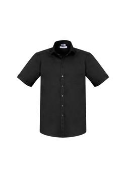 Biz S770MS Mens Monaco SS Shirts Black