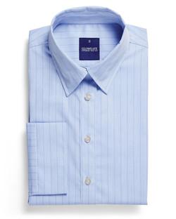 Ladies 1069WL LS Yarn Dyed Herringbone Shirt Sky