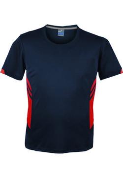 AP 1211 Mens Tasman Tshirt Navy-Red