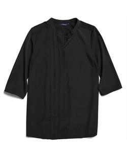 Ladies 1719WL Polyester Georgette Shirt Black