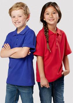 p400ks_Kids Crew Polos