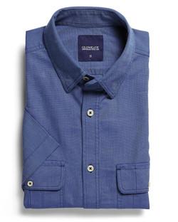 Mens 5271S SS Oxford Shirt Blue
