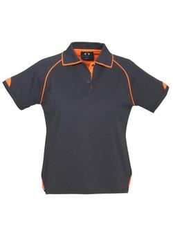 P29022 Ladies Grey-Fluoro Orange