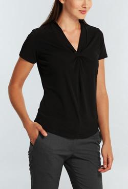 Ladies 1614WS SS Cool Breeze Shirt Black A