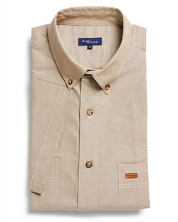 Mens 5045SN SS Iconic Chambray Industrial Shirt Sand