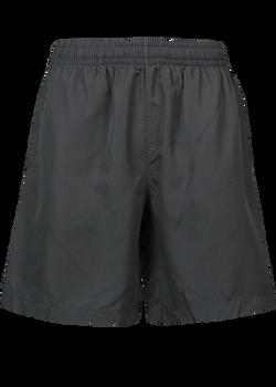 1602 Mens Pongee Shorts Black