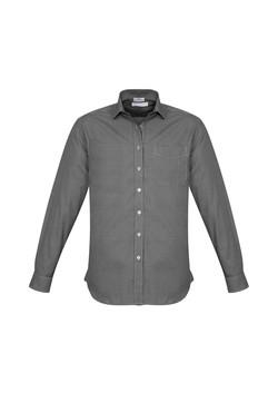 Biz S716ML Mens Ellison Shirts Black