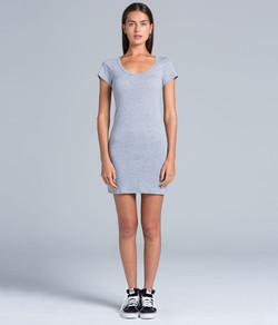 Jaime Tee Dress 4014 Grey-Marle