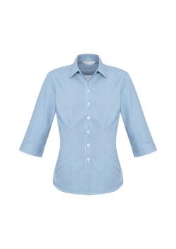 Biz S716LT Ladies Ellison Shirts Blue