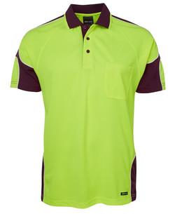 6AP4S Lime-Maroon