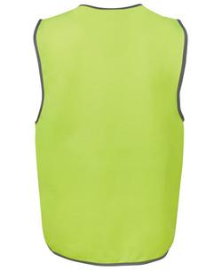 6HVSV Hi Vis Safety Vest Back